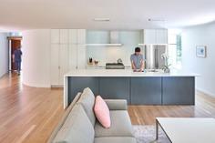 living space, kitchen / in situ studio