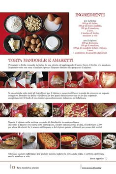 12 | Torta mandorle e amaretti by no zone, via Flickr #cooking #2013 #calendar #design #food #illustration #photography #calendars