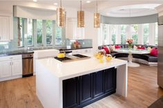 10 Signs That You Should Become An Interior Decorator #design #decor #decorator #island #kitchen