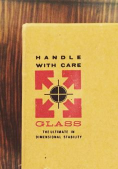 Type Hunting #glass #logo