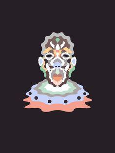 Foragepress.com | Henrik Matias #vector #organic #portrait