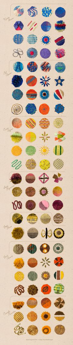 Embroidery #embroidery #icons #pattern #patterns #stitching