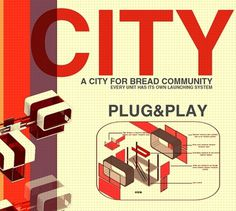 TOASTER CITY on the Behance Network #plugplay #city #design #graphic #digital #architecture #art #toaster