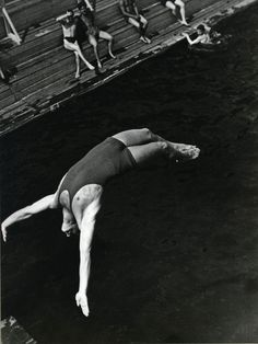 Diver #diver #rodchenko #photography #alexander #constructivist