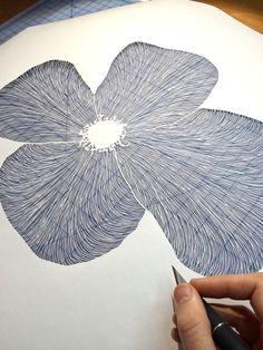 Amazing Detailed Paper Cut Art by Maude White #PaperCut