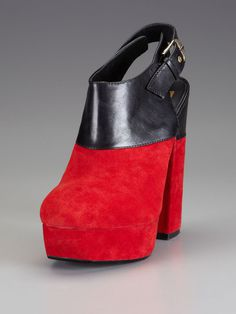 Dolce Vita Shoes Joanna Slingback #suede #red #shoe