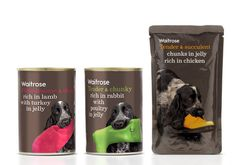 Waitrose_pets #packaging #pet #can #food
