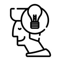 See more icon inspiration related to account, idea, head, lightbulb, bulb, designer, creativity, creative, user, avatar, happy and person on Flaticon.