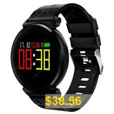 K2 #Sport #Smart #Watch #Supports #Heart #Rate #Blood #Pressure #Blood #Oxygen #Waterproof #- #BLACK