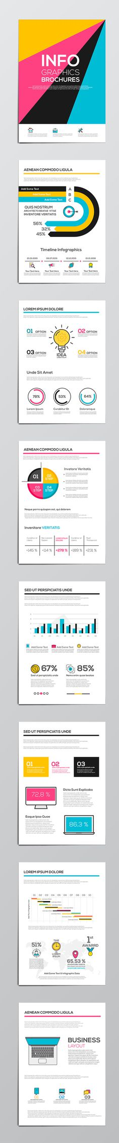Fun infographics and colors
