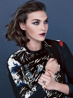 Patrick Demarchelier for US Vogue #fashion #model #photography #girl
