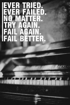 tumblr_lyq180Jx1q1qdtw5so1_500.jpg (500×746) #typography #photography #black #manipulation #play #fail #piano #instrument #try