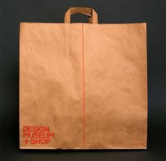 Creative Review - Opinion: the Design Museum Shop identity #bag #design