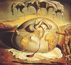 Salvador Dali and surrealist painting
