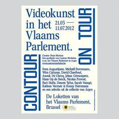 Raf Vancampenhoudt #poster #typography