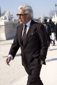 The Sartorialist #glasses #business #correct #suit #style