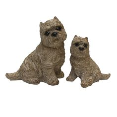 Scottie Dogs Statues, set of 2