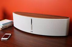 Woodbourne Wireless Bluetooth Speaker #wood #gadget #speaker #home