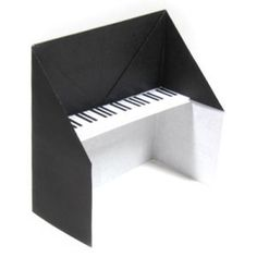 How to make a traditional origami piano (http://www.origami-make.org/howto-origami-piano.php)