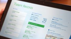 Windows 8 Patient Records App on Behance #windows8