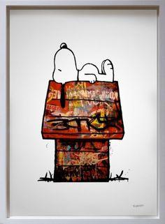 Story Behind Sleeping Snoopy - My Modern Metropolis #sleeping #snoopy