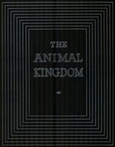 Ave. H Renband #silver #book #black #covers #animal