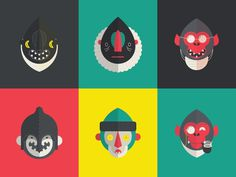 Comic Heads