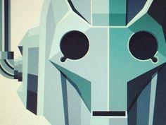 Cyberman #geometric #robot