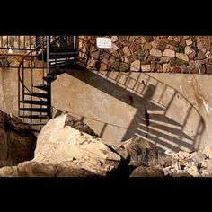 Design & Art Portfolio #stairs #rocks #photography #shadow