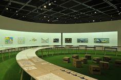 川崎市市民ミュージアム「横山裕一」展 « TORAFU ARCHITECTS トラフ建築設計事務所 #exhibition #manga #torafu #grass