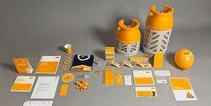125 Branding Design Inspiration   feel desain #corporate #orange #identity #branding