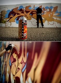 graffiti photography | Tumblr #graffiti #photo #paint #wall #art #spray
