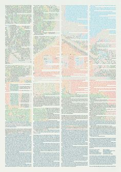 Short Story Poster by Klas Ernflo #color #typography