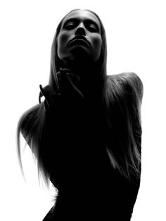Beauty Fashion Portrait in Black and White by David Benoliel Photography