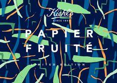 Kiels Papier Fruite pattern