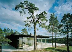 CJWHO ™ (Modern Lake House by John Robert Nilsson Overby...)