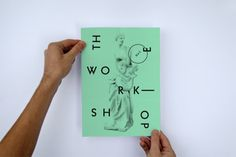 The Workshop : davidegioacchini #identity #poster