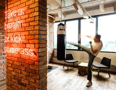 40 Office and Home Gym Ideas – Get Back on Track After the Holidays - InteriorZine #office #gym #interior