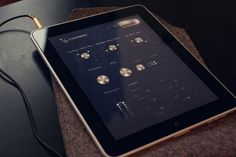 Jonas Eriksson #ipad #design #interface #digital