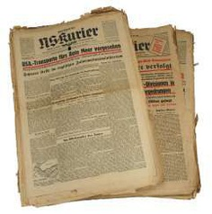 NS-Kurier Stuttgart - a collection of about 750 titles of the pages.