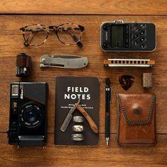 Modern, Photo, Overhead, Field Notes