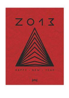 Happy New Year // 2013 - By Hadrien Degay Delpeuch