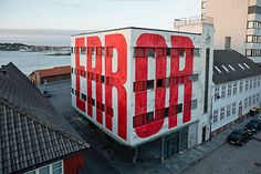 Typeverything.com - ERROR by SPY, in the city of Stavanger (Norway). #type #big