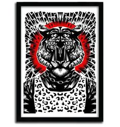 Tiger by Ali Gulec #print #art