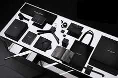 Flat 6 Concepts is a luxury branding, graphic design and website design firm based in Los Angeles: Saint Laurent wins rebranding of the year