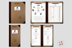 Ponelet Cheese Bar #menu #branding #restaurant