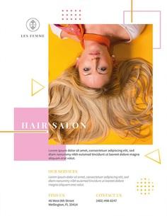 Salon Promotion Flyer Template