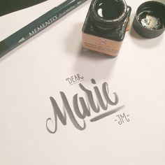 typography #calligraphy #lettering #type #hand #typography
