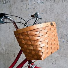 Peterboro Bicycle Basket #tech #flow #gadget #gift #ideas #cool