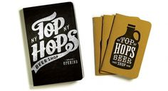 Brand Identity | Top Hops Beer Shop NYC | Helms Workshop #design #graphic